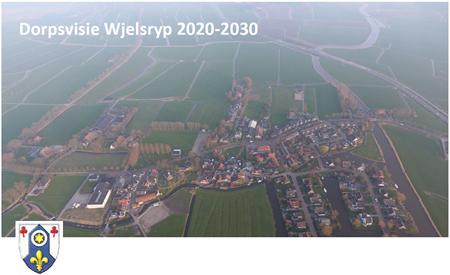 Afbeelding voorpagina Dorpsvisie Wjelsryp 2020-2030
